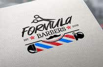 Logo and graphic design for Formula Barbers için Graphic Design184 No.lu Yarışma Girdisi
