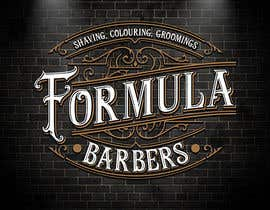 #68 для Logo and graphic design for Formula Barbers от SamuelMing