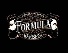 #127 для Logo and graphic design for Formula Barbers от SamuelMing