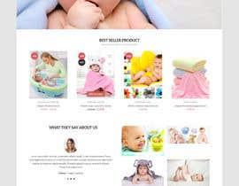 nº 9 pour Rental and booking landing shop page design + service offering 1 pager par hosnearasharif