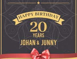 Nro 7 kilpailuun Birthday Invites käyttäjältä durjoybosu62
