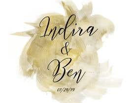 #39 para Wedding Logo por estefibergaglio