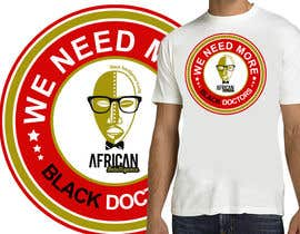 #37 para T-shirt Design for African Intelligence por venug381