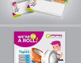 #15 for Design an enquiry leaflet for printed tape af jamegroz