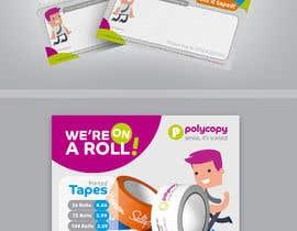 Nro 15 kilpailuun Design an enquiry leaflet for printed tape käyttäjältä jamegroz