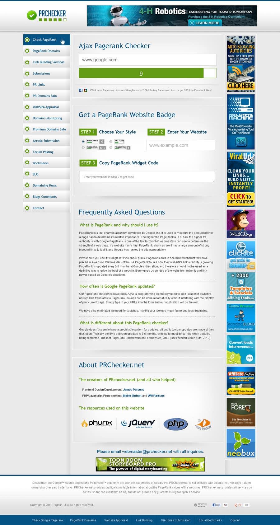 #13 for Website Design for SEO Website by ujwol