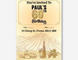 Nro 60 kilpailuun Invitation Template for Birthday Party käyttäjältä MOMODart