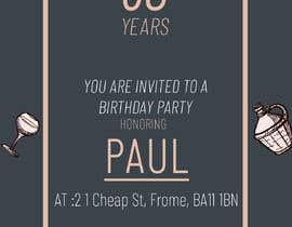 Nro 11 kilpailuun Invitation Template for Birthday Party käyttäjältä MMSimon