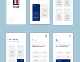 #29 untuk UI Design for Multiple Choice Test iOS App oleh sahakingshuk