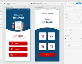 #17 untuk UI Design for Multiple Choice Test iOS App oleh hamzaikram313