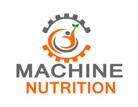 #49 for Logo, com o nome MACHINE NUTRITION af istahmed16