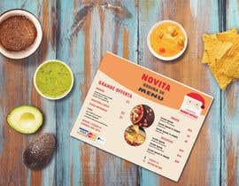 Nro 5 kilpailuun flyer for restaurant käyttäjältä Mazba92