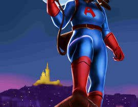 #23 for Cartoon digital painting of my best friend in Superhero mode by jasongcorre