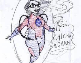 #7 untuk Cartoon digital painting of my best friend in Superhero mode oleh Maxoverdrawn