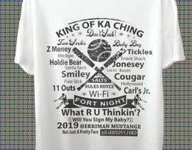 #26 untuk t-shirt design for baseball team oleh chandranayan072
