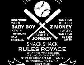 #15 untuk t-shirt design for baseball team oleh raographix