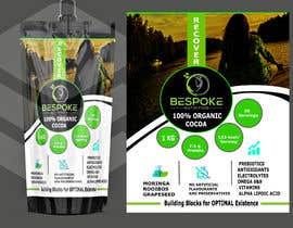 #34 para Bespoke Nutrition  Label Packaging Design por neharasheed876