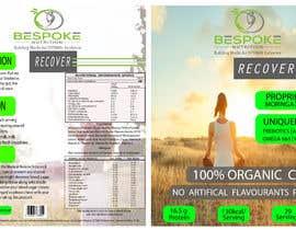 #9 para Bespoke Nutrition  Label Packaging Design por metaphor07