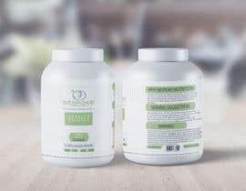 #25 para Bespoke Nutrition  Label Packaging Design por metaphor07
