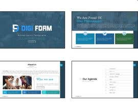 #20 untuk Create a PowerPoint presentation template for our company oleh casandrazpran