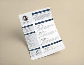 nº 8 pour New design for my CV par AhmedShakil24
