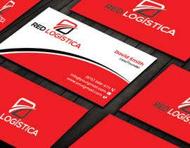 #100 for Bussiness Card Red Logistica by pritishsarker
