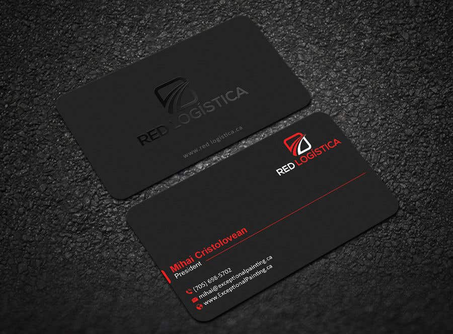 Contest Entry #14 for Bussiness Card Red Logistica