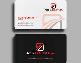 #107 for Bussiness Card Red Logistica by SSarman88