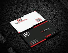 #102 for Bussiness Card Red Logistica by mahedihasan08