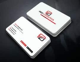 #109 untuk Bussiness Card Red Logistica oleh mahedihasan08