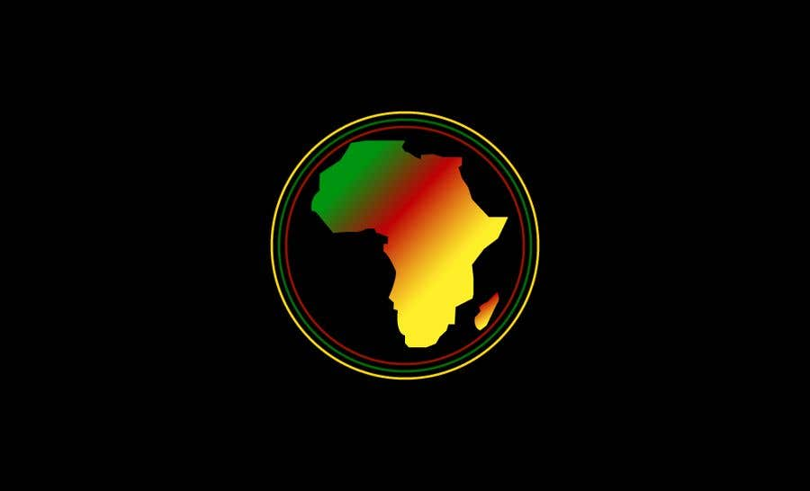 Proposition n°9 du concours A high quality Logo of Africa containing the colours red,gold and green