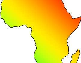 nº 11 pour A high quality Logo of Africa containing the colours red,gold and green par mqadry
