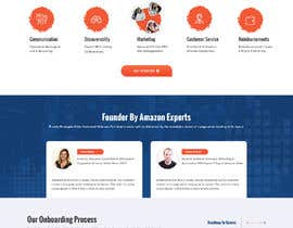 Nro 10 kilpailuun Build us a homepage with customizr and wpbakery for our Amazon Seller Agency käyttäjältä pchand469