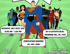 #2 for I need someone to create flyer very attractive to the public. The flyer is about the superheroes  - 19/06/2019 16:04 EDT af estefibergaglio
