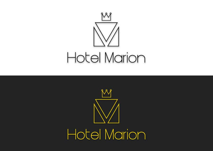 Kilpailutyö #347 kilpailussa Modern logo for a boutique hotel. Named Hotel Marion