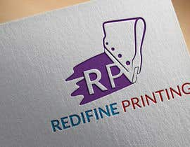 #36 for redifine printing logo by msfahad1