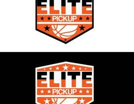 graphicworld24 tarafından Elite pickup basketball league logo için no 364