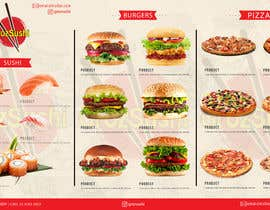 #62 for Sushi , pizza, burger delivery service! by shinshushko