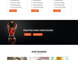 #26 for Redesign Fitness7xL.com by akterfr