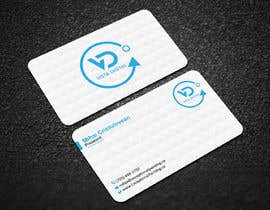 #127 for Design business cards for VistaDigital - Virtual tour specialists by ronyahmedspi69