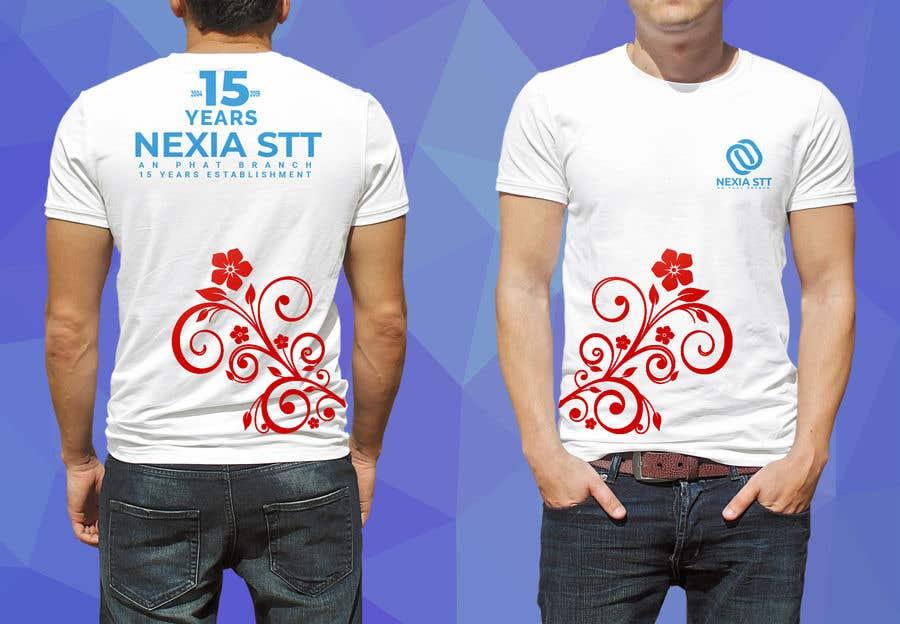 Конкурсная заявка №47 для Design T-shirt both side