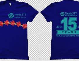 Nro 56 kilpailuun Design T-shirt both side käyttäjältä voltes098