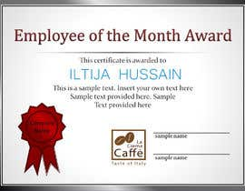 #4 for Employee of the month by iltijahussain77