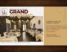#48 cho Make a flyer for a restaurant bởi Hasan628