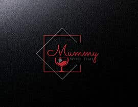 #34 untuk Change shape to a wine glass. Font must be elegant and sexy. This logo is representing the strength of women oleh shahadatmizi