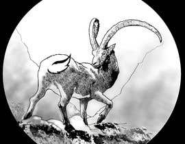 #79 for Need a line(brown) sketch of the animal Himalayan Ibex done, looking at it from behind by dasbis777