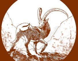 #83 cho Need a line(brown) sketch of the animal Himalayan Ibex done, looking at it from behind bởi dasbis777