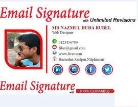 #58 for create modern email signature by nazma1996