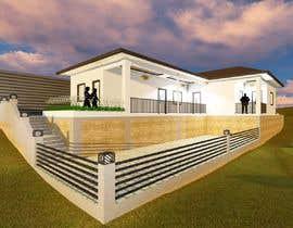 #4 untuk I need Exterior 3D Design of my House oleh asherentrealgo