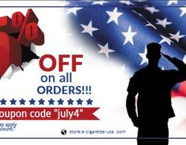 #138 pentru 4th Of july banner de către PixelDesign24